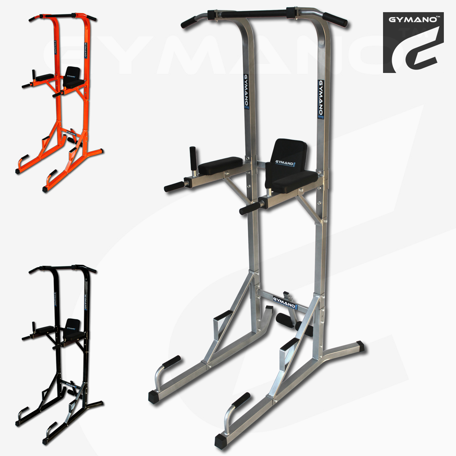 GYMANO-ULTIMATE-VKR-POWER-TOWER-w-PULL-PUSH-UP-BAR-TRICEP-DIP-SIT-UP-CRUNCH
