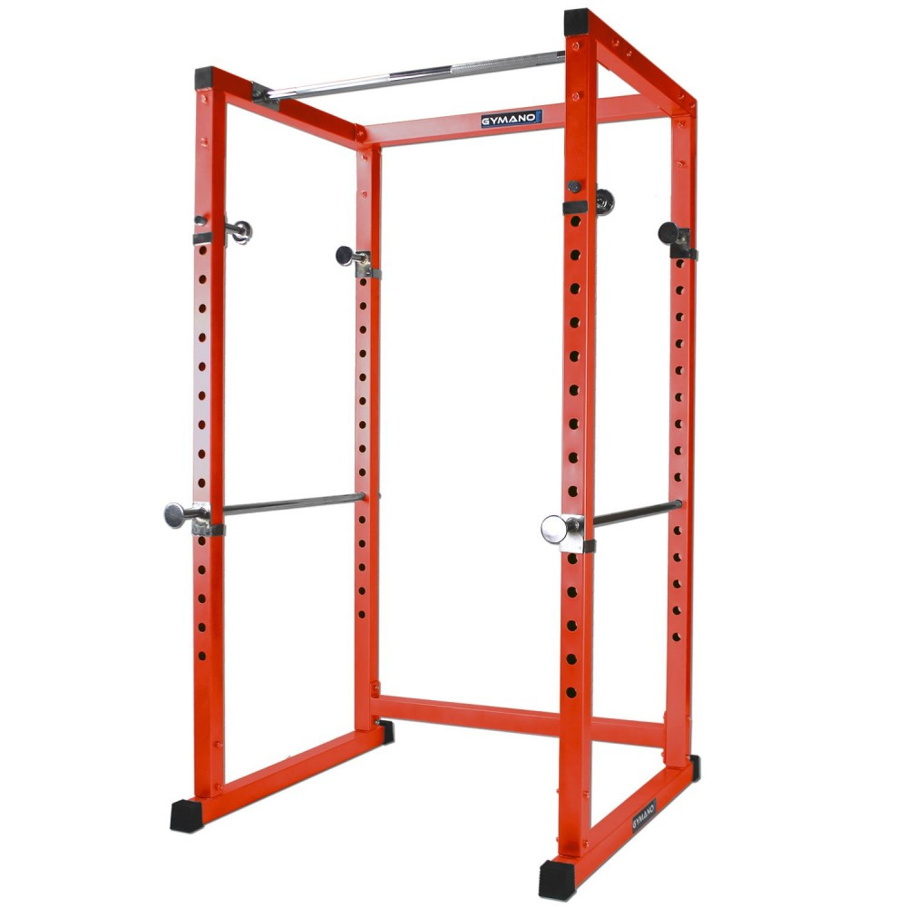 gymano professional power rack squat racks stands cages gym equipment. Black Bedroom Furniture Sets. Home Design Ideas