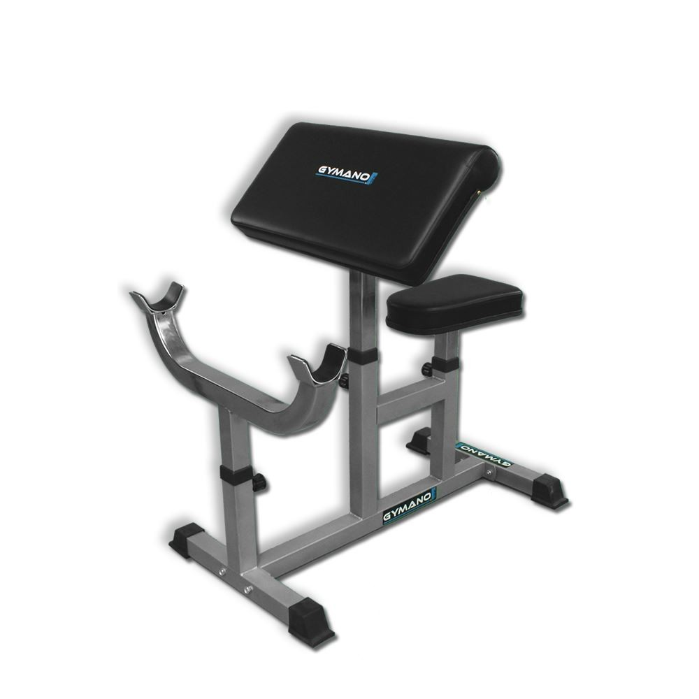 Gymano Seated Preacher Curl Bench