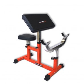 GYMANO | SEATED PREACHER CURL BENCH
